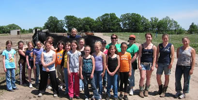 Dakota Stables summer riding program